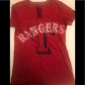 Women's Texas rangers nike T-shirt